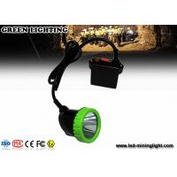 Buy cheap 5W High Power LED Coal Miner Cap Lights Green And Black Head Lamp 1500mA from wholesalers