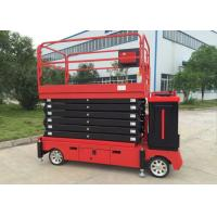 Buy cheap 6-11M Electric Self - propelled Scissor Lift / Aerial Work Platform 300KG Lift Capacity from wholesalers