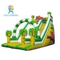 Buy cheap cheap prices popular Small indoor/outdoor park games cute inflatable tiger slide for sale from wholesalers