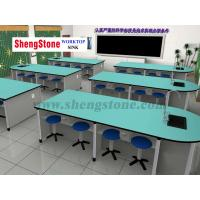 Buy cheap School OEM Customized Green Physiochemical Countertop from wholesalers