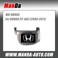 Buy cheap Manda 2 din car dvd gps for HONDA NEW FIT JAZZ (2008-2011) car navigation system in-dash stereo radio car automobiles from wholesalers