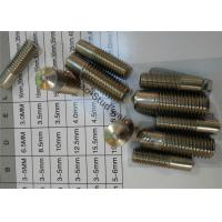 Buy cheap Arc M6X15MM Stud Welder Stainless Steel Pins With Imperial Threads from wholesalers