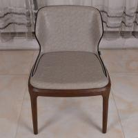 Buy cheap Dark Grey PU Leather Modern Dining Room Chairs / Cafeteria Chairs from wholesalers