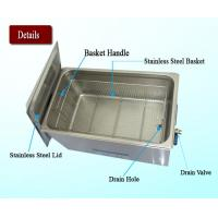 Buy cheap 30L Heated Ultrasonic Jewelry Cleaner With Industrial PCB Board Control from wholesalers