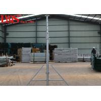 Hot Dipped Galvanized Steel Shoring Posts Heavy Gauge Adjustable Builders Props
