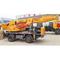 Buy cheap Chinese 5 ton transformed crane hydraulic type with salef-made chassis from wholesalers