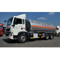 Buy cheap 22cbm Fuel Oil Delivery Truck with 336 Hp engine , RHD optional Oil Tank Trailer from wholesalers