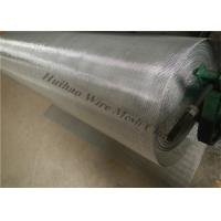 Buy cheap 48X100 Plain Weave Stainless Steel Wire Mesh For Shale Shaker Screen from wholesalers