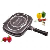 Buy cheap Dessini double frying pan Aluminum Non-stick baking pan from wholesalers
