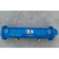 Buy cheap Horizontal Type Tube Heat Exchanger , Hydraulic Oil / Water Cooler Plate Heat Exchanger from wholesalers