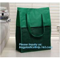 Buy cheap New design recycle rope handle non woven bag with eyelet, Customized printing non woven bag flat punch bag for shoes&gar from wholesalers