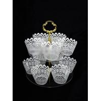 Buy cheap CD (91) tiered cake stands for wedding cakes from wholesalers