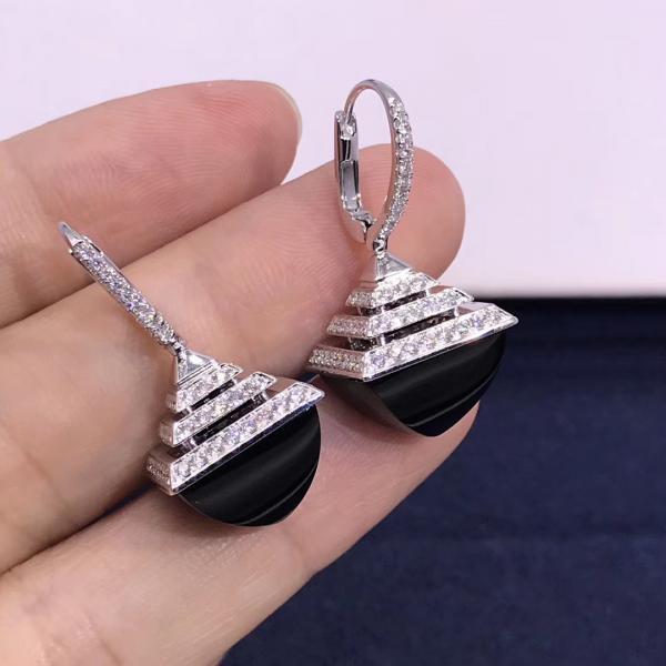 Buy cheap 18 Karat Gold Luxe Diamond Small Earrings CLEO REV LUXE DIAMOND DROP EARRINGS from wholesalers