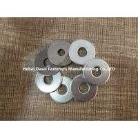 Buy cheap Carbon Steel Flat Washers Grade 4.8 Din126 White Zinc Plated / HDG Finish from wholesalers