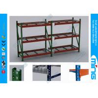 Buy cheap Powder Coated Steel Pallet Storage Racks , Garage Storage Shelf from wholesalers
