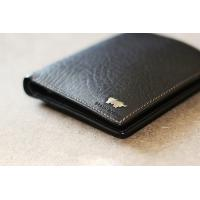 Buy cheap new design trendy man Genuine Leather wallet leather purse from wholesalers
