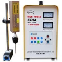Buy cheap No damage to thread Small Mini EDM Machine broken tap extractor machine from wholesalers