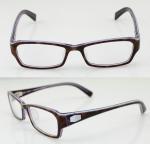 Buy cheap Custom Rectangle Flexible Mens Acetate Eyeglasses Frames For Promotion from wholesalers