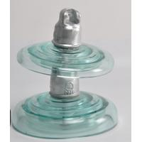 Buy cheap 33KV Rated Electric Line Insulators , Clear Glass Insulators High Intensity from wholesalers