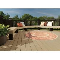 Buy cheap Waterproof Oak WPC Composite Decking recyclable with Co-extrusion Decks from wholesalers