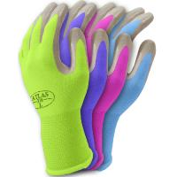 Buy cheap Nature color cotton gardening gloves with knit cuff from wholesalers