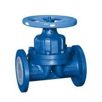 Buy cheap PN16/CL150 Flanged RF CS/Cast Iron Gg25/A126 B PTFE/PDM/NR Rubber Weir or Straight Through Diaphragm Valve Handwheel from wholesalers