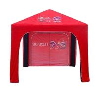 Buy cheap Custom Printed Outdoor Trade Show Tents 2X2 Water Resistance Red Color from wholesalers