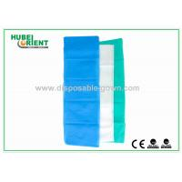 Buy cheap 100% PP Nonwoven Disposable Bed Sheets For Travel Light Blue / White Color from wholesalers