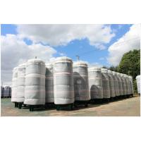 Buy cheap Ethanol / CNG Compressed Air Storage Tank , 8mm Thickness Air Compressor Holding Tank product