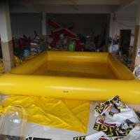 Buy cheap Inflatable Swimming Pools 0.9mm PVC Tarpaulin 0.65 m Pipe For Intdoor Amusement from wholesalers