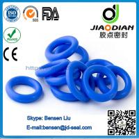 Buy cheap Blue VITON O Rings Mechanical Seals with SGS RoHS FDA Certificates AS568-JIS2401-ISO3601 (O-RINGS-0055) from wholesalers