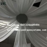 Buy cheap aluminum pipe and drape backdrop curtain manufacturer with high quality from wholesalers