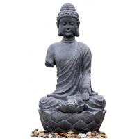 Buy cheap Large Zen Inspired Asian Buddha Water Fountain Water Features For Garden from wholesalers