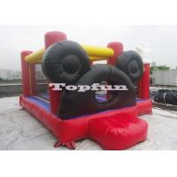 Buy cheap Softplay Cartoon Inflatable Castle Bouncer And Pool With Ocean Ball from wholesalers