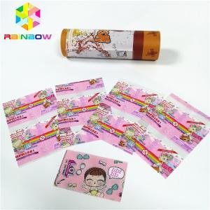 China PVC PET Shrink Sleeve Labels Waterproof Wrap Film Tube Plastic Bottle Box Packaging on sale