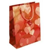 Buy cheap 2012 gross Personalized custom printed handle wedding gift bags red with Spout Top from wholesalers