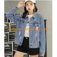 Buy cheap wholesale harley biker legend woman jeans jackets and coats from wholesalers