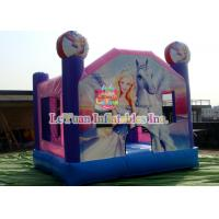 Buy cheap Cute Barbie Doll Inflatable Bouncy Castle For All Ages Kids School Festival from wholesalers