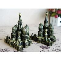 Buy cheap Custom Service DIY Craft Gifts Antique Electroplated Kremlin Buildings Model from wholesalers