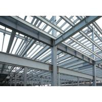 Buy cheap High Strength Pre-fabricated Steel Building Structures for High - Raise Building, Stadiums from wholesalers