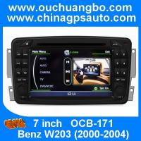 Buy cheap Ouchuangbo S100 DVD GPS navigaiton radio headunit Mercedes Benz W203 2000-2004 BT WIFI USB from wholesalers