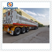 Buy cheap 54000L CNG LNG Tanker 3 Axle Semi Trailer Tractor from wholesalers