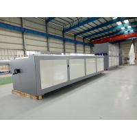 PLC Control PVC Profile Extrusion Line , UPVC Doors And Windows Manufacturing Machines