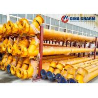 Buy cheap Flexible Auger Screw Conveyor Machine For Powder Conveying LSY219 LSY273 LSY325 from wholesalers