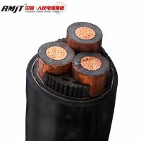 Buy cheap 15kv 33kV Medium Voltage Steel Wire Armoured Electrical Cable 3 Phase Copper Wire Screen XLPE Power Cable from wholesalers