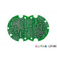 Buy cheap Double Sided HASL FR4 PCB Board Lead Free Green Solder Mask For Consumer product