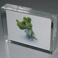 Buy cheap Personalized Magnetic Acrylic Photo Frames For Family , Wedding product