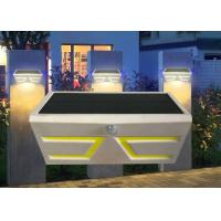 Buy cheap Durable Solar Powered Motion Sensor Lights Outdoor , Solar Exterior Wall Light Fixtures from wholesalers
