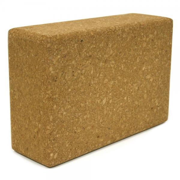 Custom Printing Brick Natural Cork Yoga Block For