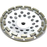 Buy cheap 12 segment 7 Inch Concrete and Stone grinding Double Row Diamond Cup Wheel from wholesalers